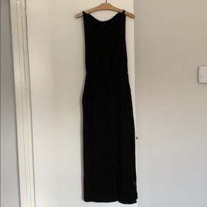 Babaton maxi dress with slit